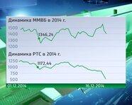 Динамика ММВБ и РТС в 2014 г.
