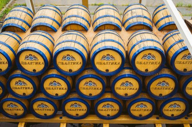 Продажи пива упали в России на 7% в 2014 году