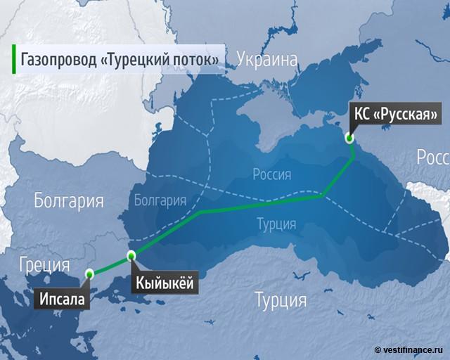 Армения планирует изменить маршрут доставки российского газа