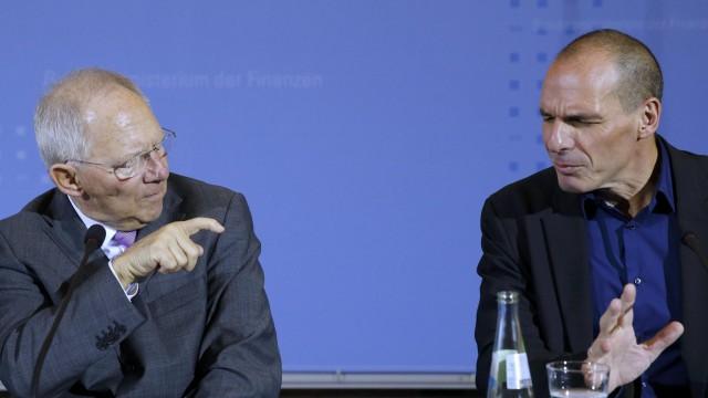 В Германии обсуждают шаги по выходу Греции из евро