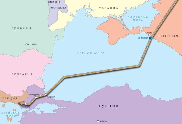 """Соглашение по """"Турецкому потоку"""" могут  подписать  в июне"""