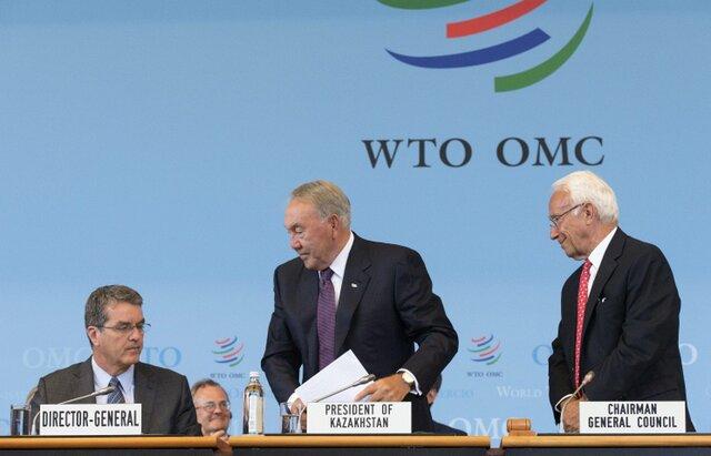 Казахстан теперь присоединили к ВТО