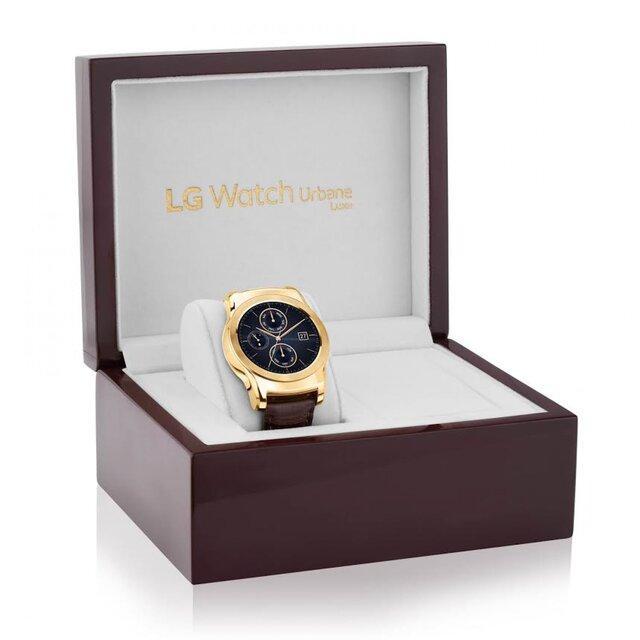 LG выпустит золотые «умные» часы