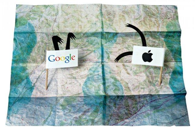 Apple приобрела компанию Mapsense