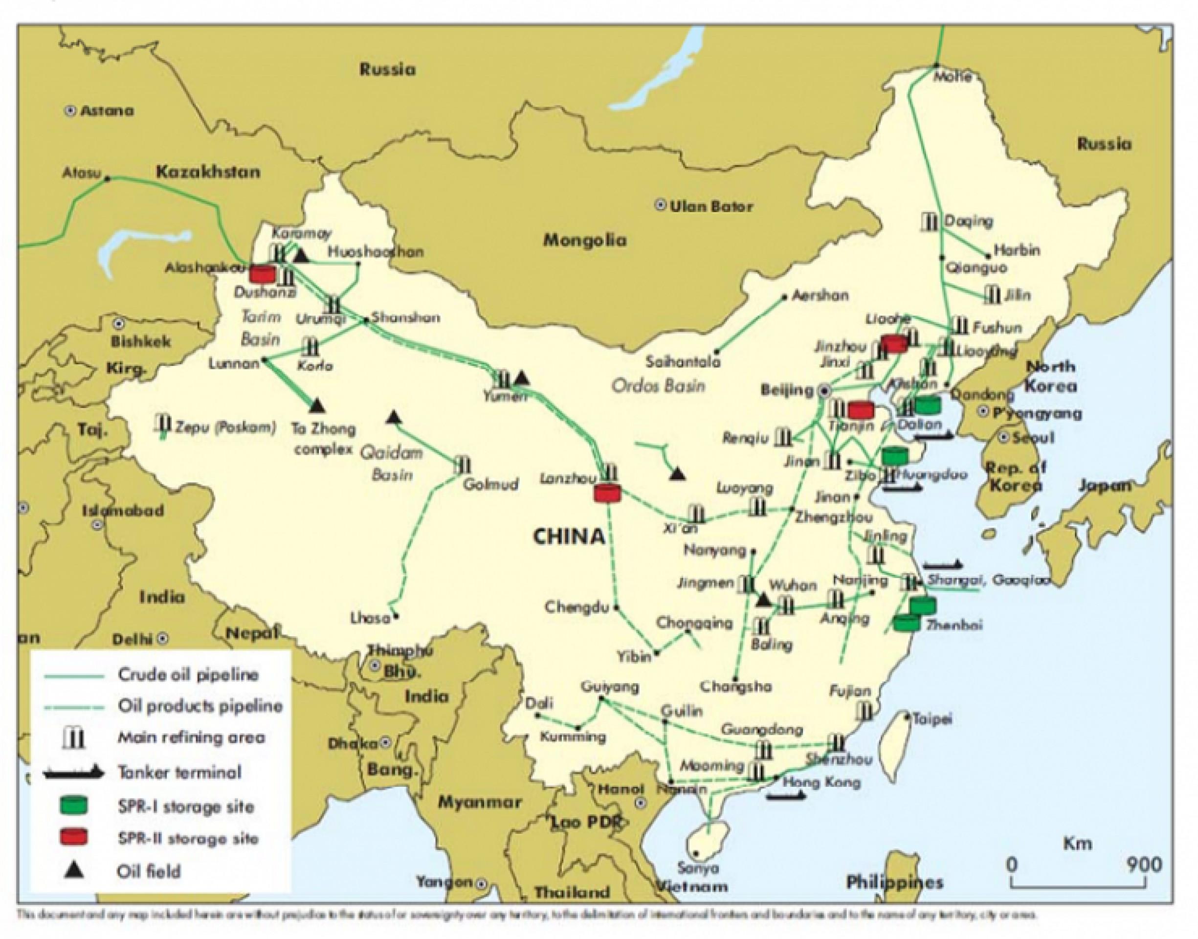 Что случится, когда Китай заполнит хранилища нефтью?