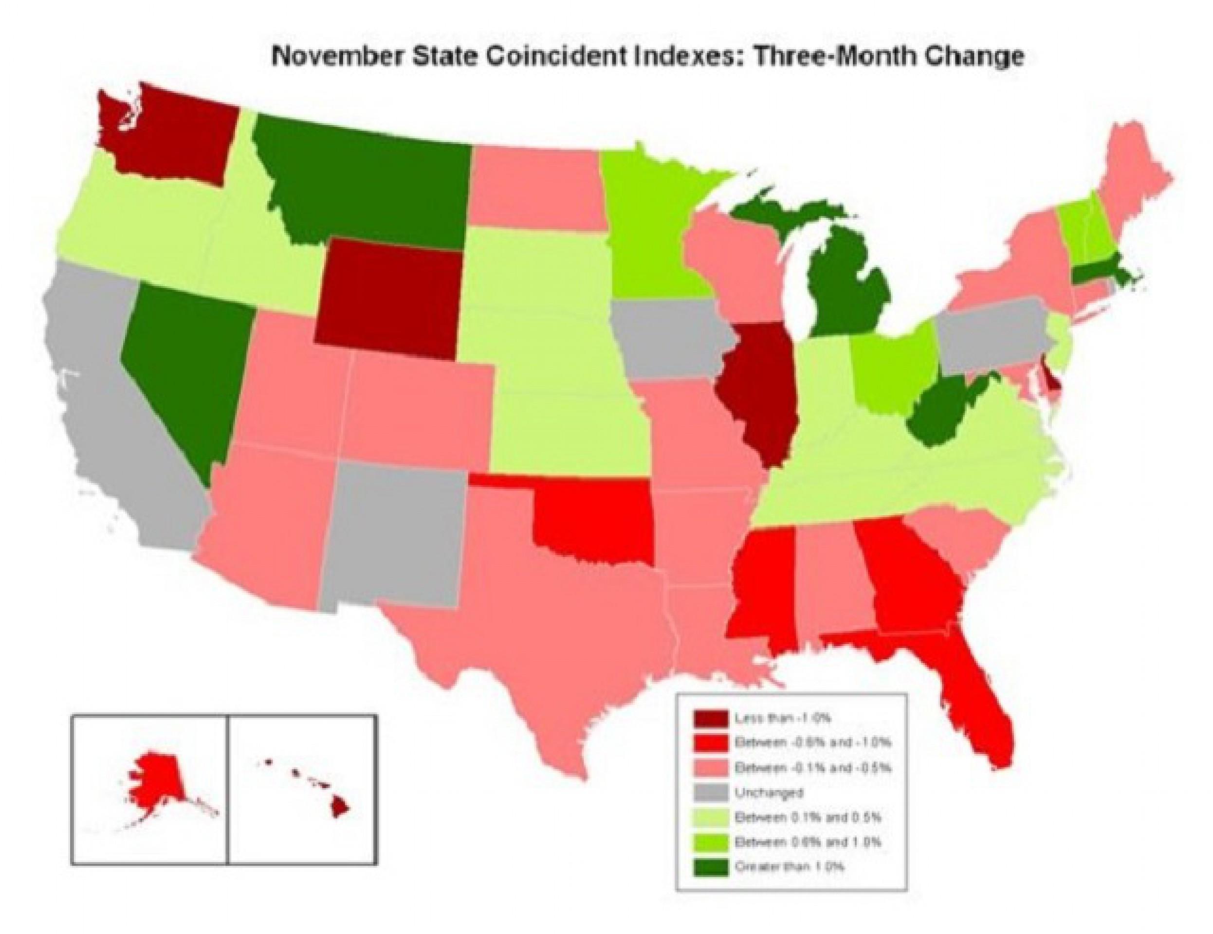 6 штатов, которые тянут экономику Америки вниз