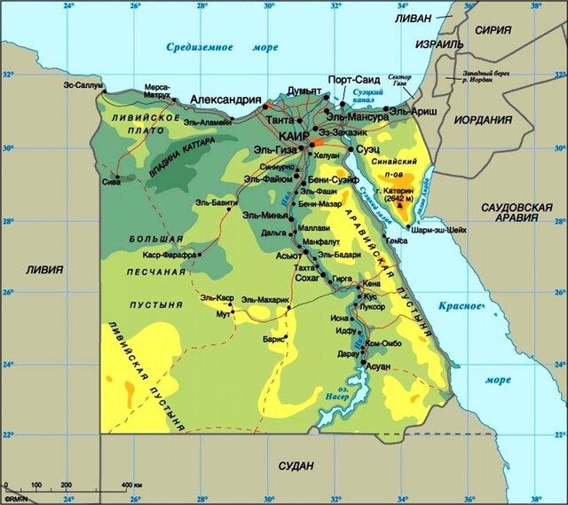 Росатом подписал соглашение о строительстве 4-блочной АЭС в Египте