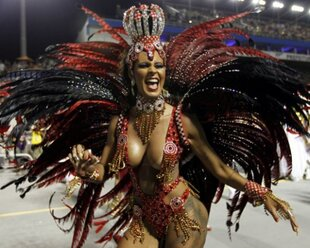 Рецессия отменяет бразильский карнавал