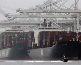 Экспорт США упал впервые с 2009 года
