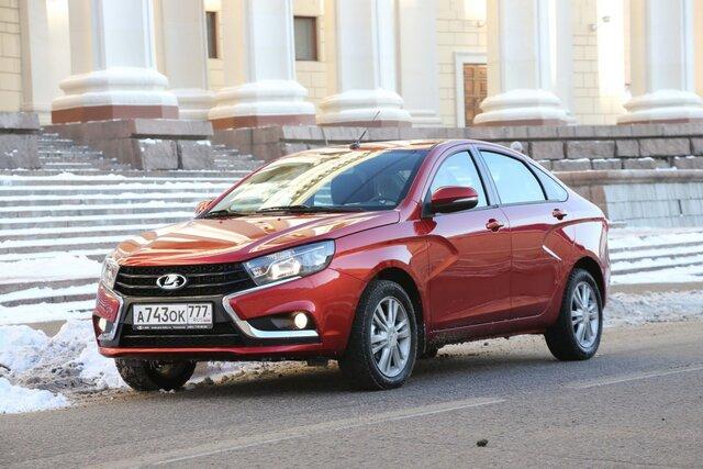 Lada Vesta вошла в топ-10 самых продаваемых автомобилей России