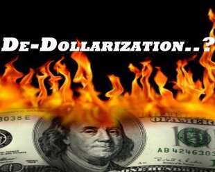 Доля доллара в кредитах нефинансовому сектору падает