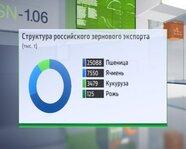Структура российского зернового экспорта