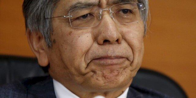 Главе Банка Японии требуется время для оценки воздействия отрицательной ставки наэкономику