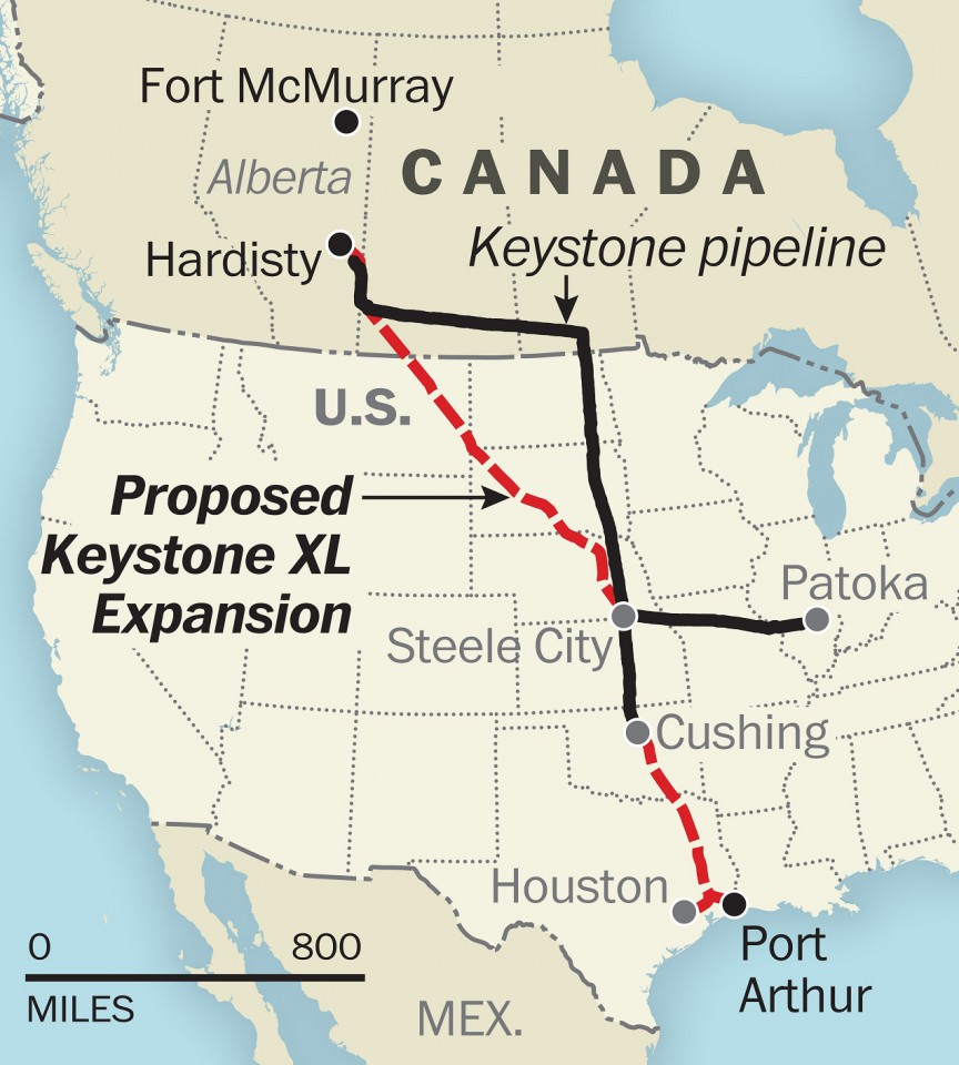 impacts of keystone xl pipeline on environment The keystone xl project is a proposed plan to construct a 1,179 mile-long crude oil pipeline across the us-canada international border the northern leg of the 36-inch wide pipeline plans to connect hardisty in alberta to steele city in nebraska.