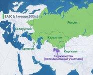Страны ЕАЭС (с 1 января 2015 года)
