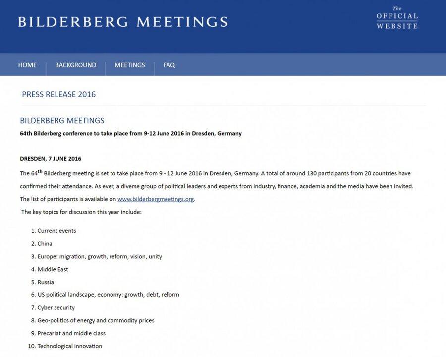 Бильдерберги в Дрездене: элиты в поисках консенсуса. Тайное мировое правительство: Что делать с Россией и кого назначить президентом США?