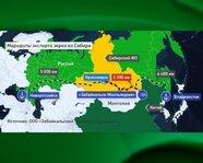 Маршруты экспорта зерна из Сибири