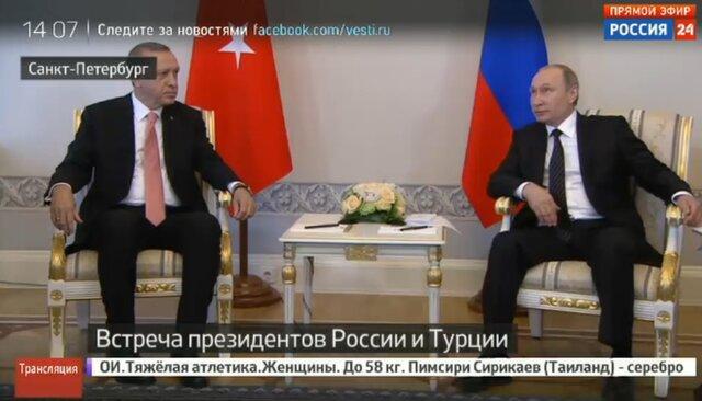 ВПетербурге усилены меры безопасности перед встречей Владимира Путина иЭрдогана