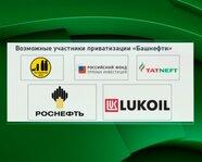 """Возможные участники приватизации """"Башнефти"""""""