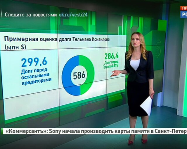 "Ни денег ни имущества: Исмаилова ""прижали к стенке"""