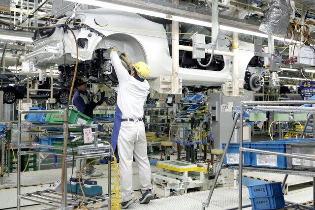 Производственная активность в Японии снизилась