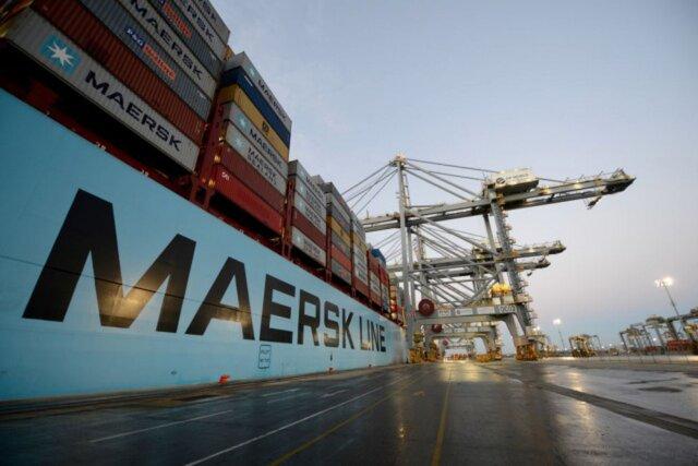 A. P. Moeller Maersk раскололся надве части