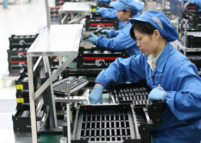 Прибыль больших промпредприятий Китая увеличилась вконце лета на19,5%