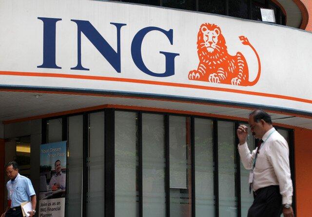 ING Group планирует уменьшить 7 тыс. служащих