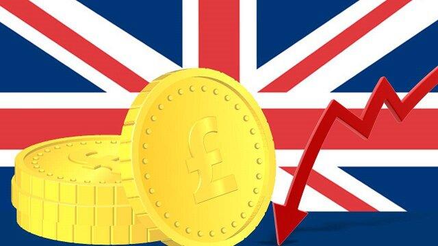 Курс фунта к корзине валют Bloomberg упал до абсолютного минимума