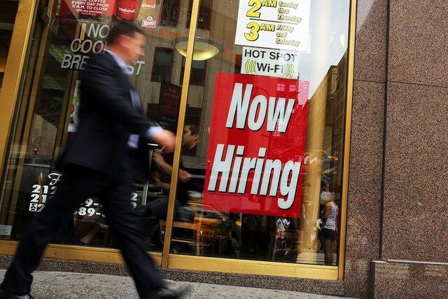 Занятость в личном секторе США всередине сентября увеличилась на154 тысячи мест