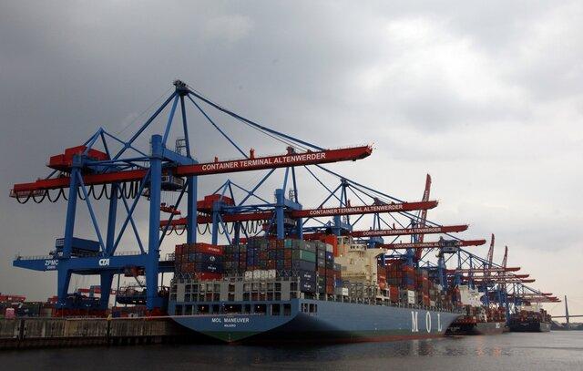 Профицит торгового баланса вГермании вконце лета был выше прогнозов