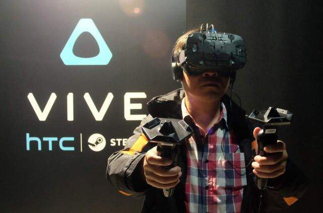 Шлем виртуальной реальности HTC Vive начинает реализовываться в Российской Федерации