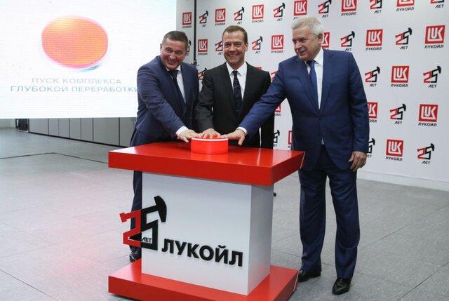 Путин предложил «ЛУКойлу» принять участие вприватизации «Роснефти»