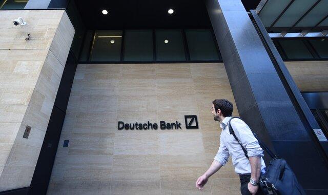 Fitch поместило рейтинг Deutsche Bank напересмотр