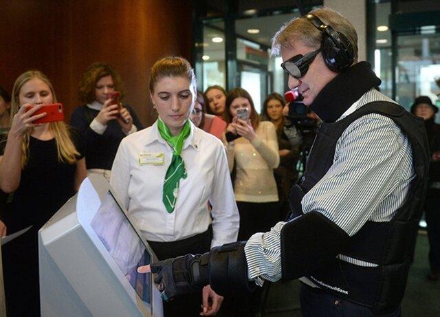 Греф ввиде инвалида попытался получить кредит вСбербанке