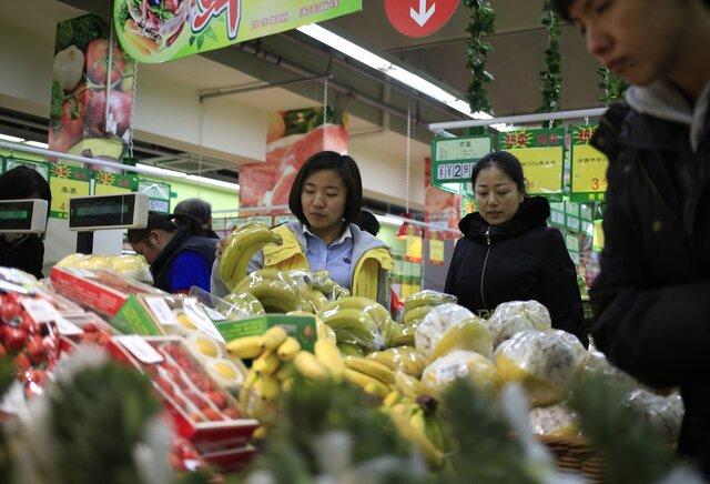 Кконцу осени инфляция в Китайская народная республика достигла 2,3%