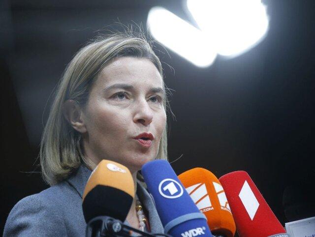 Могерини: ЕС и РФ могут совместно выступить против Трампа