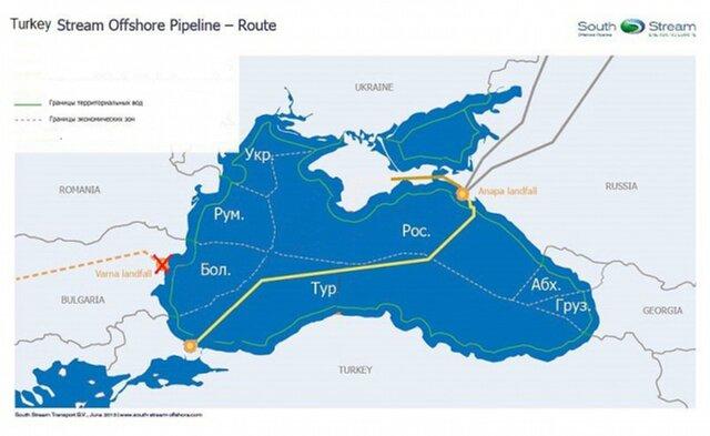 Правительство России одобрило ратификацию соглашения о«Турецком потоке»