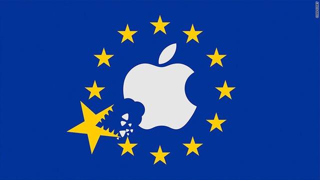 Apple опротестует решение овзыскании снее $14 млрд