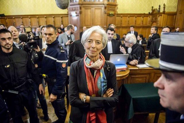 Руководителя МВФ признали виновной вхалатности