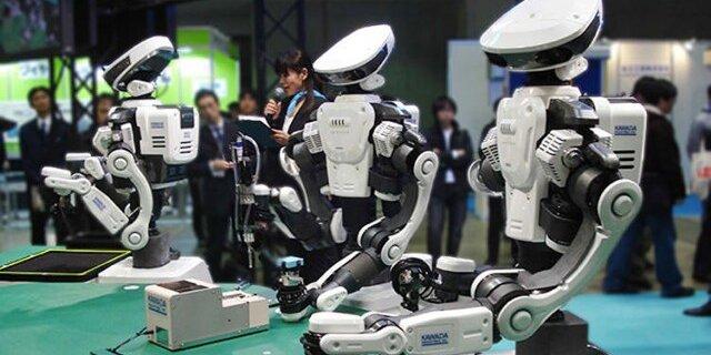 Абэ спасет Японию с помощью роботов