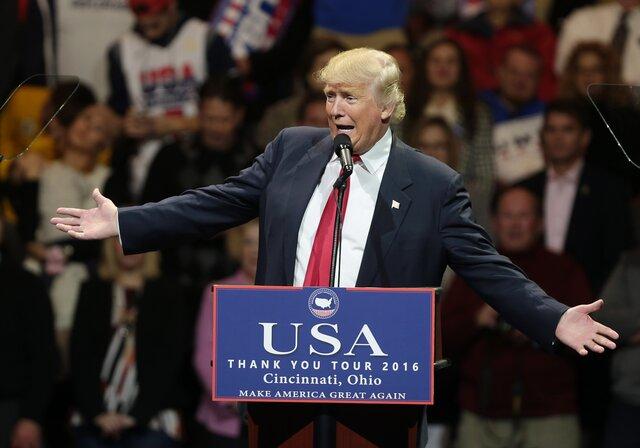 Трамп считает, что после его победы навыборах вмире возникла надежда