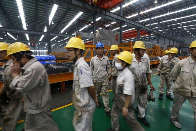 Прибыль в индустрии Китая возросла на14,5%