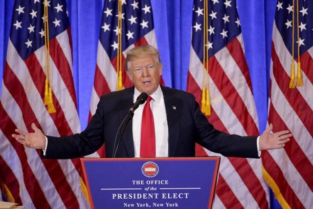 Пресс-конференция: Дональд Трамп стоит на своем