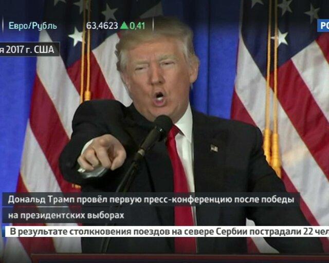 Пресс-конференция имени России. Главные тезисы выступления Трамп