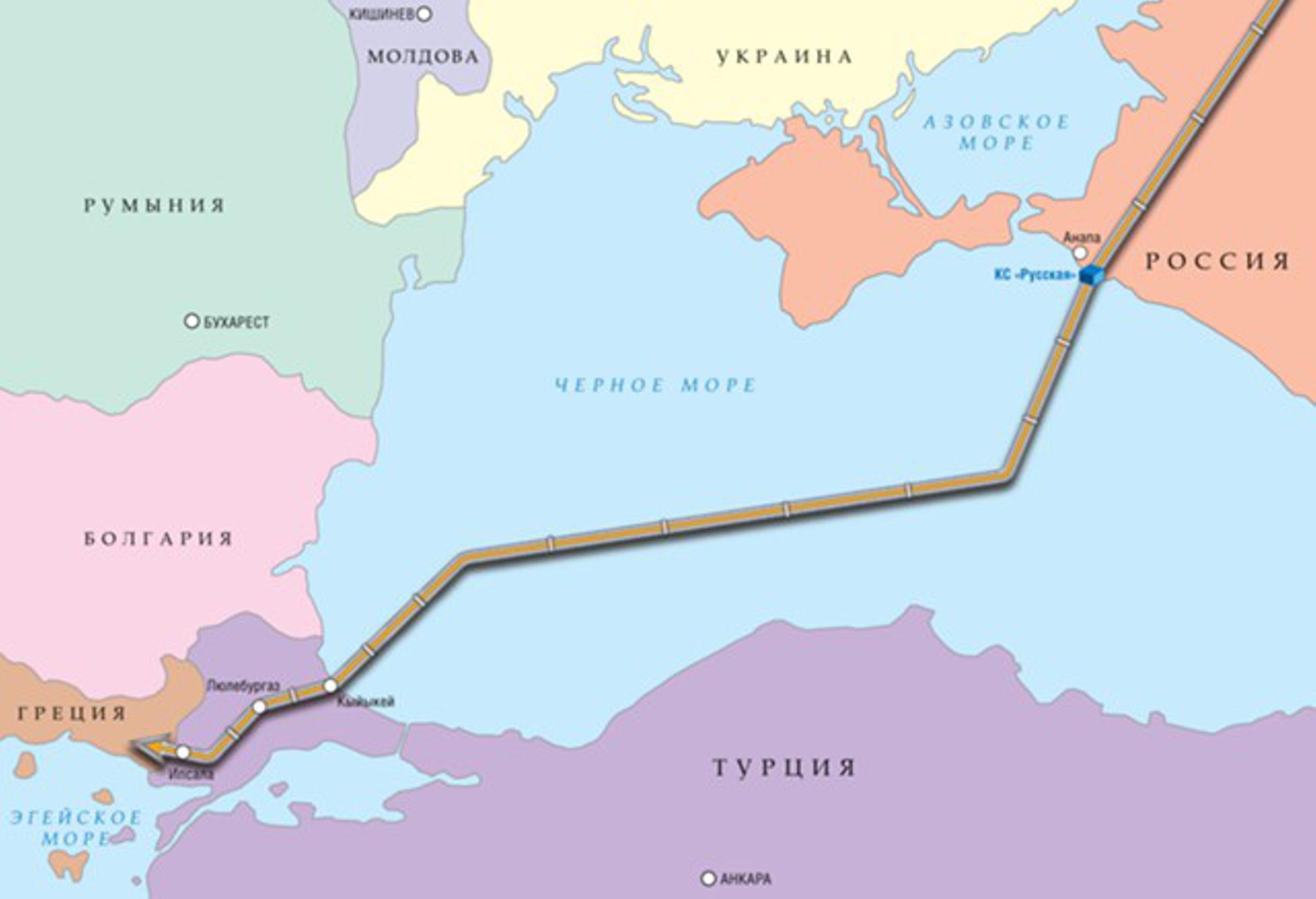 """""""Газпром"""" будет судиться с турецкими импортерами"""