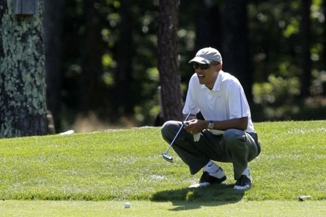 Чем занимался Обама в Белом доме?