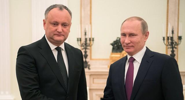 Додон: Молдавия намерена развивать связи с Россией