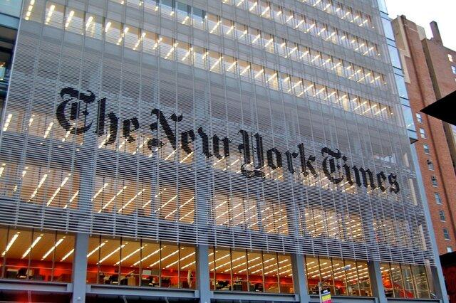 В социальная сеть Twitter NYT появилось сообщение оракетном ударе Российской Федерации поСША