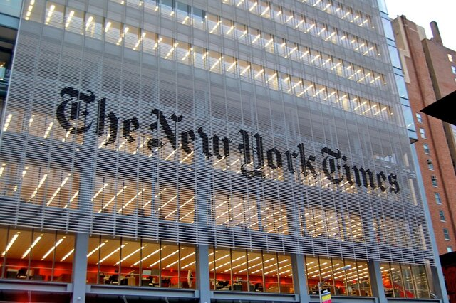 Хакеры разместили втвиттер-аккаунте NYT сообщение обатакеРФ наСША